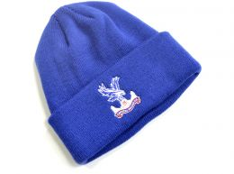 47 Brand Crystal Palace Cuff Knitted Turn Up Hat Royal Blue