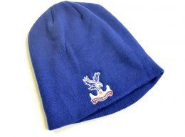 47 Brand Crystal Palace Knitted Beanie Hat Royal Blue