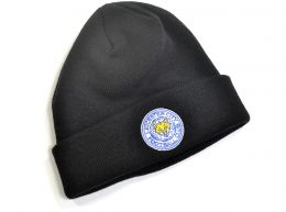 47 Brand Leicester City Cuff Knitted Turn Up Hat Black
