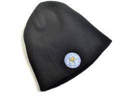 47 Brand Leicester City Knitted Beanie Hat Black