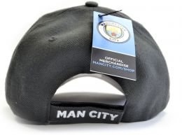 Man City 47 Brand Pro Baseball Strap Back Cap Graphite