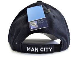 Man City 47 Brand Pro Baseball Strap Back Cap Navy
