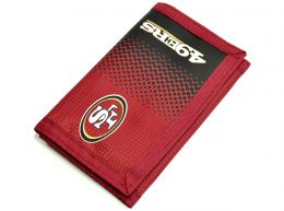 San Francisco 49ers NFL Fade Design Wallet