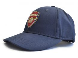 Arsenal Crest Baseball Cap Navy