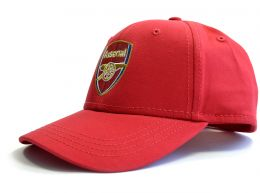 Arsenal Crest Baseball Cap Red