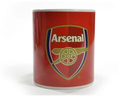 Arsenal Fade Design Boxed Mug