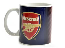 Arsenal Halftone 11oz Boxed Mug