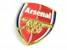 Arsenal Crest Pin Badge Red