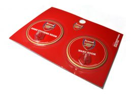 Arsenal Robe Hook Sign 2 Pack