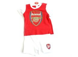 Arsenal Short and Tee Sleep Set