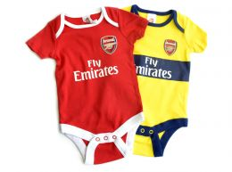 Arsenal Two Pack Body Suit 2019 20