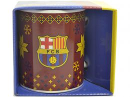FC Barcelona Christmas 11 oz Boxed Mug
