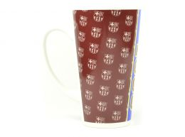 FC Barcelona Established Latte Crest Boxed Mug