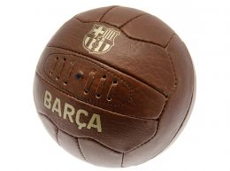 Barcelona Retro Faux Leather Ball Size 5