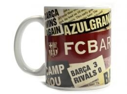 Barcelona Headline Mug 11oz Boxed Mug