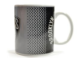 Brooklyn Nets NBA Fade Design Boxed Mug