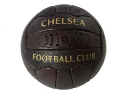 Chelsea Retro Heritage Leather Ball Size 5