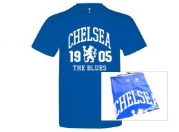 Chelsea The Blues T Shirt Royal Blue Adults Retail Packaging