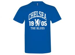Chelsea The Blues T Shirt Royal Blue Adults