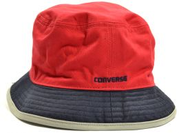 Converse Red Navy Contrast Bucket Hat