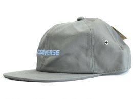 Converse Basic Charcoal Grey Strap Back Cap