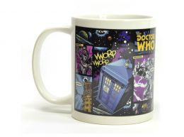 Doctor Who Comic Strip Boxed 11 Oz Mug