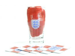 England Word Mark Mini Bar Set
