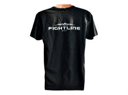 Fightline Diet Mens Round Neck Tshirt Black
