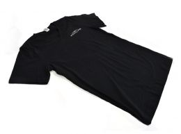 Fightline Diet Mens V Neck Tshirt Black