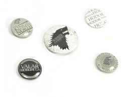 Game Of Thrones Badge Set