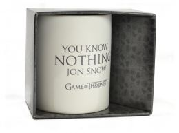 Game Of Thrones You Know Nothing Mug 11oz Boxed Mug