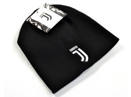 Juventus Knitted Beanie Hat Black