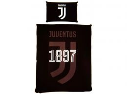 Juventus Mono Single Duvet and Pillow Case Set
