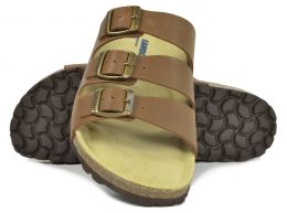 Sanosan Lisbon Leather Brown Mens