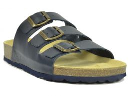 Sanosan Lisbon Leather Navy Mens