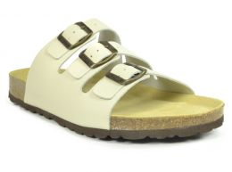 Sanosan Lisbon Leather Ivory Mens