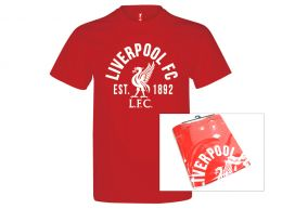 Liverpool Established T Shirt Red Adults Retail Packaging
