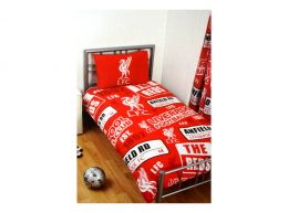 Liverpool Patch Single Duvet and Pillow Case Set