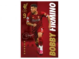 Liverpool Firmino Poster