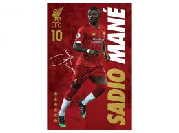 Liverpool Mane Poster