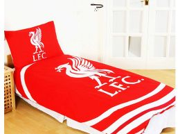 Liverpool Pulse Single Duvet and Pillow Case Set