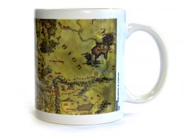 Lord of the Rings Middle Earth Map 11oz Boxed Mug