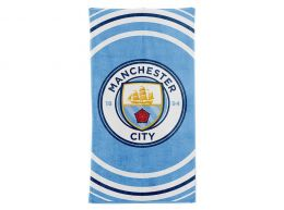 Man City Pulse Design Towel