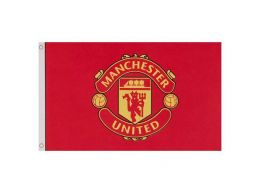 Man Utd Core Crest Flag 5 x 3