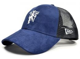 Man Utd New ERA Navy Mesh Devil 9FORTY Baseball Cap