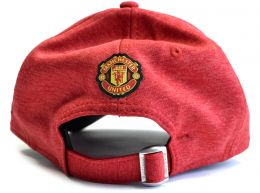 Man Utd New ERA Shadowtech Perf Red 9Forty Strapback Cap