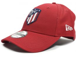 New Era Atletico Madrid Logo Essential Red 9Forty
