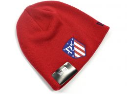 Atletico Madrid Logo Red Skull Knitted Beanie