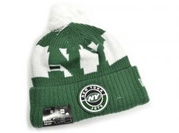New Era New York Jets On Field NFL Knitted Bobble Hat