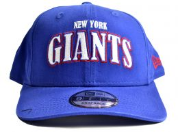 New Era New York Giants Pre Curved Cap